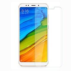 Недорогие Защитные плёнки для экранов Xiaomi-Защитная плёнка для экрана для XIAOMI Xiaomi Redmi 5 Plus Закаленное стекло 1 ед. Защитная пленка для экрана Уровень защиты 9H / Защита от царапин