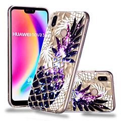 お買い得  Huawei Pシリーズケース/ カバー-ケース 用途 Huawei P20 Pro / P20 lite パターン バックカバー 果物 ソフト TPU のために Huawei P20 / Huawei P20 Pro / Huawei P20 lite