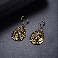 preiswerte Ohrringe-Damen Stilvoll Tropfen-Ohrringe - Modisch, Mehrfarbig Bronze Für Party Geburtstag