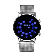 preiswerte Herrenuhren-Herrn / Damen Armbanduhr Chinesisch Chronograph / leuchtend / Cool Edelstahl Band Mehrfarbig Silber