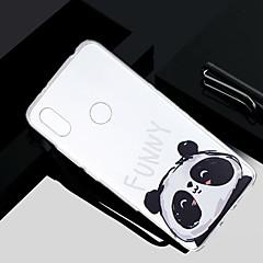 Недорогие Чехлы и кейсы для Xiaomi-Кейс для Назначение Xiaomi Redmi S2 / Mi 5X Прозрачный / Полупрозрачный / С узором Кейс на заднюю панель Панда Мягкий ТПУ для Redmi Note 5A / Xiaomi Redmi Note 4X / Xiaomi Redmi Note 4