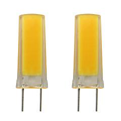 お買い得  LED 電球-2pcs 3 W 150-200 lm G8 LED2本ピン電球 1 LEDビーズ COB 装飾用 温白色 / クールホワイト 220-240 V