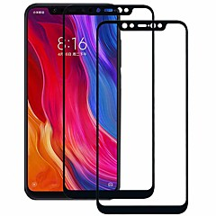 cheap Screen Protectors for Xiaomi-ASLING Screen Protector for Xiaomi Xiaomi Mi 8 Tempered Glass 2 pcs Full Body Screen Protector 9H Hardness / 2.5D Curved edge / Explosion Proof