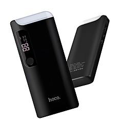 お買い得  モバイルバッテリー-15000 mAh 用途 パワーバンク外付けバッテリ 5 V 用途 2 A / 1 A 用途 バッテリーチャージャー 自動電流切替 LED