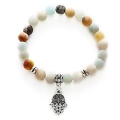 preiswerte Armbänder-Damen Retro Glasperlen Strang-Armbänder - Kreativ Süß, Modisch Armbänder Weiß Die Hand von Fatima Für Alltag Festival
