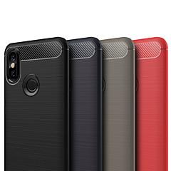 Недорогие Чехлы и кейсы для Xiaomi-ASLING Кейс для Назначение Xiaomi Mi 6X Матовое Кейс на заднюю панель Однотонный Мягкий ТПУ для Xiaomi Mi 6X(Mi A2)