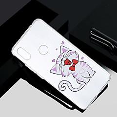 Недорогие Чехлы и кейсы для Xiaomi-Кейс для Назначение Xiaomi Redmi S2 / Mi 5X Прозрачный / Полупрозрачный / С узором Кейс на заднюю панель Кот Мягкий ТПУ для Redmi Note 5A / Xiaomi Redmi Note 4X / Xiaomi Redmi Note 4