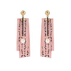 preiswerte Ohrringe-Damen Stilvoll Tropfen-Ohrringe - Schleife Europäisch, Modisch Rosa Für Normal