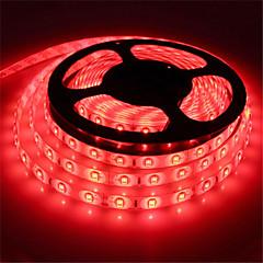 preiswerte LED Lichtstreifen-5m Flexible LED-Leuchtstreifen 300 LEDs SMD5630 Rot / Blau / Grün Wasserfest / Schneidbar / Verbindbar 12 V 1pc / Selbstklebend