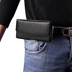 Недорогие Универсальные чехлы и сумочки-Кейс для Назначение Xiaomi Mi 8 SE / Mi 8 Explorer Защита от пыли Мешочек Однотонный Твердый Настоящая кожа для Xiaomi Mi Max 2 / Xiaomi Mi Mix 2 / Xiaomi Mi Mix
