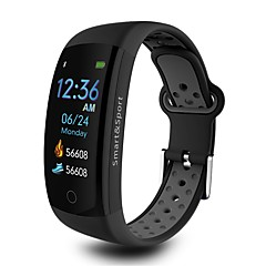 cheap Smartwatches-Indear Q6S Smart Bracelet Smartwatch Android iOS Bluetooth Sports Waterproof Heart Rate Monitor Blood Pressure Measurement Touch Screen Timer Pedometer Call Reminder Activity Tracker Sleep Tracker