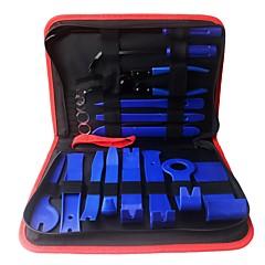 Недорогие Ремонтные инструменты-ziqiao 19шт. автомобиль ремонт разборка инструменты комплект автомобиль dvd стерео набор для ремонта внутренняя пластиковая обшивка панель приборная панель установка инструмент для удаления