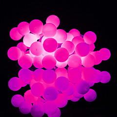 preiswerte LED Lichtstreifen-4m Leuchtgirlanden 40 LEDs Warmes Weiß / Weiß / Blau Neues Design / Dekorativ / Cool AA-Batterien angetrieben