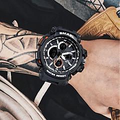 お買い得  メンズ腕時計-男性用 デジタルウォッチ 日本産 クォーツ ブラック / レッド / オレンジ 50 m クロノグラフ付き クリエイティブ 夜光計 アナログ/デジタル バングル ファッション - ゴールドとブラック カーキ色 ダークグリーン 2年 電池寿命