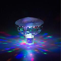 preiswerte Ausgefallene LED-Beleuchtung-brelong led bunte wasserdichte kinder spielzeug badewanne licht 1 stück