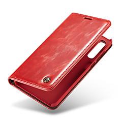 お買い得  Huawei Pシリーズケース/ カバー-huawei p20プロウォレット/カードホルダー/フリップフルボディケース用のカゼミーケースhuawei p20 / huawei p20 pro / huawei p20 lite