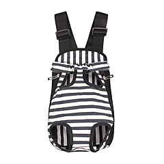cheap Dog Supplies & Grooming-Dogs / Cats Carrier & Travel Backpack Pet Carrier Portable / Casual / Daily Stripe Blue