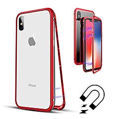 Недорогие Кейсы для iPhone-Кейс для Назначение Apple iPhone XR / iPhone XS Max Полупрозрачный Чехол Однотонный Твердый Закаленное стекло для iPhone XS / iPhone XR / iPhone XS Max