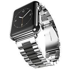 abordables Accesorios para Reloj-Acero Inoxidable Ver Banda Correa para Apple Watch Series 3 / 2 / 1 Negro / Dorado 23cm / 9 pulgadas 2.1cm / 0.83 Pulgadas
