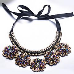 お買い得  ネックレス-女性用 クラシック ネックレス  -  ロマンチック クール ブラック 10*7.5 cm ネックレス ジュエリー 1個 用途 パーティー/フォーマル
