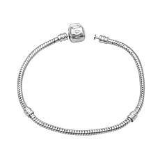 preiswerte Armbänder-Herrn Vintage Stil / Einzelkette Ketten- & Glieder-Armbänder - Kreativ Einfach, Modisch Armbänder Silber Für Geburtstag / Bar