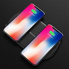 abordables Novedades-nillkin 10w / 7.5w carga dual cargador inalámbrico rápido para iphone xs iphone xr xsmax iphone 8 samsung s9 plus s8 nota 8 o receptor incorporado teléfono inteligente qi