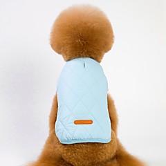 お買い得  犬用ウェア&アクセサリー-犬用 / 猫用 コート / ジャケット 犬用ウェア ソリッド グレー / Brown / ブルー フリース コスチューム ペット用 男女兼用 ウォームアップ / ブリティッシュ