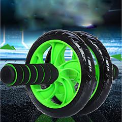 abordables Accesorios para Fitness-Aprox.15cm Rodillo de rueda Ab Con 1 Passepartout Cómodo, No resbaladizo, Estabilidad Extensión, Mejorando curvas hacia atrás PVC (PVJ), PP+ABS Para Fitness / Gimnasia / Rutina de ejercicio Cintura