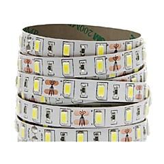 お買い得  LED ストリングライト-5m フレキシブルLEDライトストリップ 300 LED 5730 SMD 温白色 / クールホワイト / レッド ノンテープ・タイプ 12 V 1個