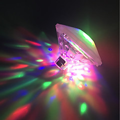 preiswerte Ausgefallene LED-Beleuchtung-BRELONG® 1pc LED-Nachtlicht AAA-Batterien angetrieben Wasserfest / Farbwechsel / Dekoration 5 V