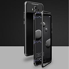 Недорогие Чехлы и кейсы для Huawei Mate-Кейс для Назначение Huawei Mate 10 pro / Mate 10 Магнитный Чехол Однотонный Твердый Закаленное стекло для Huawei Honor 10 / Mate 10 / Mate 10 pro