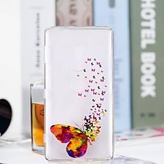 お買い得  Huawei Pシリーズケース/ カバー-ケース 用途 Sony Xperia XZ2 Compact / Xperia XZ2 クリア / パターン バックカバー バタフライ ソフト TPU のために Huawei P20 / Huawei P20 Pro / Huawei P20 lite
