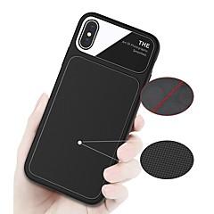 Недорогие Кейсы для iPhone X-Кейс для Назначение Apple iPhone X / iPhone 8 Защита от удара / Матовое Кейс на заднюю панель Однотонный Мягкий ТПУ для iPhone X / iPhone 8 Pluss / iPhone 8