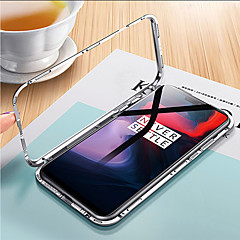お買い得  その他のケース-ケース 用途 OnePlus OnePlus 6 クリア フルボディーケース ソリッド ハード 強化ガラス / メタル のために OnePlus 6