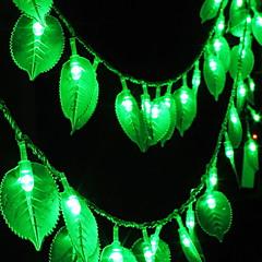 preiswerte LED Lichtstreifen-5m Leuchtgirlanden 40 LEDs Grün Dekorativ 220-240 V 1 set