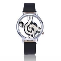 お買い得  レディース腕時計-女性用 リストウォッチ クォーツ ブラック / 白 透かし加工 カジュアルウォッチ ハンズ レディース ファッション - ホワイト ブラック