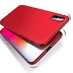 Недорогие Кейсы для iPhone 7-Кейс для Назначение Apple iPhone XR / iPhone XS Max Ультратонкий / Матовое Кейс на заднюю панель Однотонный Твердый ПК для iPhone XS / iPhone XR / iPhone XS Max