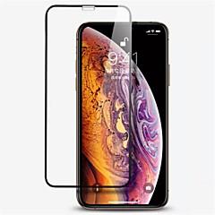 Недорогие Защитные пленки для iPhone X-Защитная плёнка для экрана для Apple iPhone XS / iPhone XR / iPhone XS Max Закаленное стекло 1 ед. Защитная пленка для экрана Уровень защиты 9H / 2.5D закругленные углы / Защита от царапин