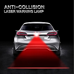 お買い得  LED アイデアライト-自動車の衝突防止レーザー光自動車のレーザー尾灯尾灯警告ランプライトオートバイのトラック