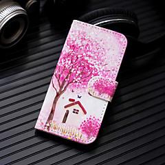Недорогие Кейсы для iPhone 7 Plus-Кейс для Назначение Apple iPhone XS / iPhone XS Max Кошелек / Бумажник для карт / со стендом Чехол дерево Твердый Кожа PU для iPhone XS / iPhone XR / iPhone XS Max