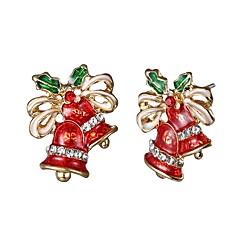 abordables Bijoux pour Femme-Femme Boucles d'oreille goujon - Manches Pagode simple, Classique, Hyperbole Or Pour Noël