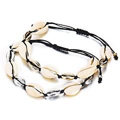 preiswerte Armbänder-Damen Klassisch Ketten- & Glieder-Armbänder - Hülle Romantisch Armbänder Gold / Silber Für Geschenk Festival