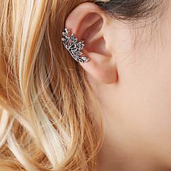preiswerte Ohrringe-Damen Ohr-Stulpen - Blume Einzigartiges Design, Modisch, nette Art Gold / Silber Für Ausgehen Arbeit