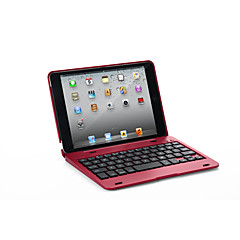 abordables Fundas para iPhone-Funda Para Apple iPad Mini 3/2/1 / J6 con Teclado Funda de Cuerpo Entero Un Color Dura Cuero de PU para iPad Mini 3/2/1