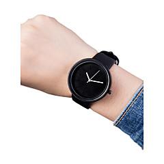 お買い得  レディース腕時計-女性用 リストウォッチ クォーツ 30 m クリエイティブ PU バンド ハンズ ヴィンテージ ファッション ブラック / ブラウン / ピンク - グリーン ブルー ピンク