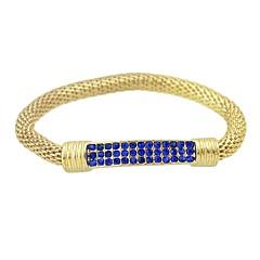 preiswerte Armbänder-Damen Einzelkette Ketten- & Glieder-Armbänder - Grundlegend, Modisch Armbänder Schwarz / Grün / Blau Für Alltag Schultaschen