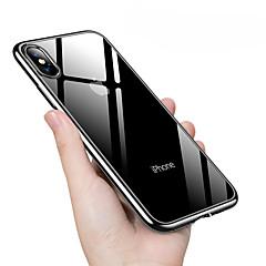 Недорогие Кейсы для iPhone 7 Plus-Кейс для Назначение Apple iPhone XS / iPhone XS Max Покрытие Кейс на заднюю панель Однотонный Мягкий ТПУ для iPhone XS / iPhone XR / iPhone XS Max