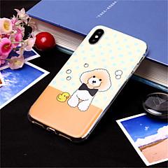 Недорогие Кейсы для iPhone 6 Plus-Кейс для Назначение Apple iPhone XS / iPhone XS Max С узором Кейс на заднюю панель С собакой Мягкий ТПУ для iPhone XS / iPhone XR / iPhone XS Max