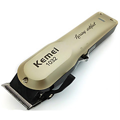 abordables cortar el pelo-Kemei Cortadores de Cabello para Hombre y mujer 110-240 V Poco ruido / Diseño portátil / Ligero y Conveniente