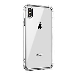 お買い得  iPhone 5S/SE ケース-ケース 用途 Apple iPhone XR / iPhone XS Max 耐衝撃 / クリア バックカバー ソリッド ソフト TPU のために iPhone XS / iPhone XR / iPhone XS Max